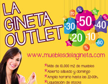 Diseño Web Muebles de La Gineta
