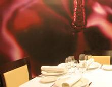 Vinilo interior Restaurante La Mezquita