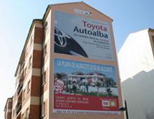 Lona Toyota Autoalba